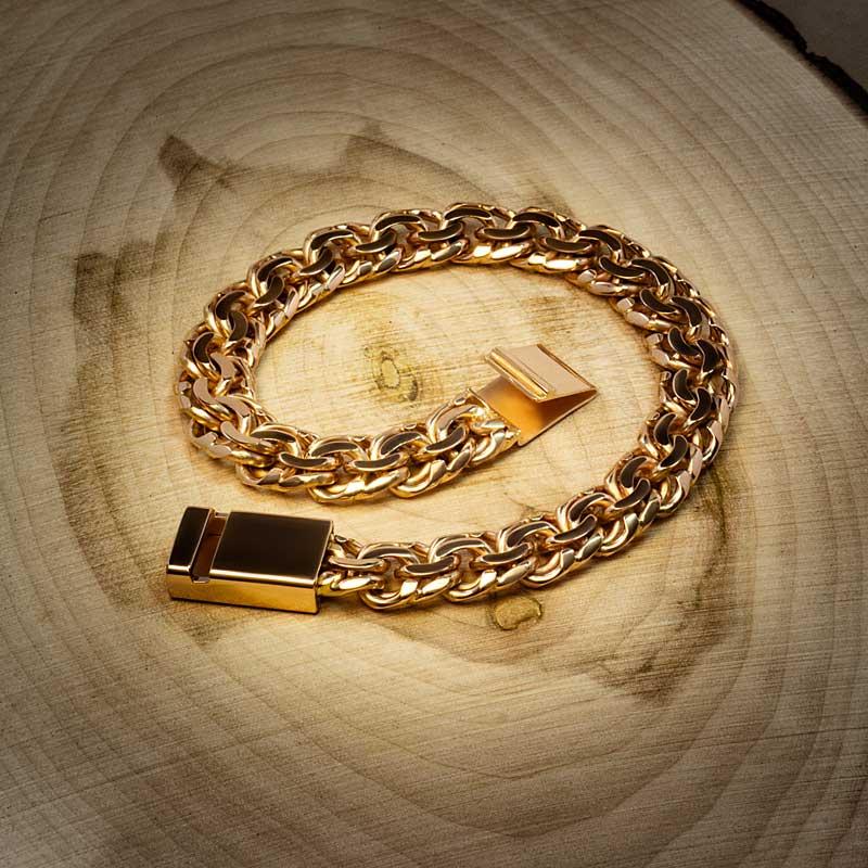 Браслет-Бисмарк-из-золота