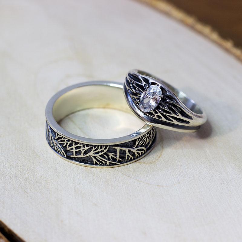 Кольцо-из-серебра-с-чернением