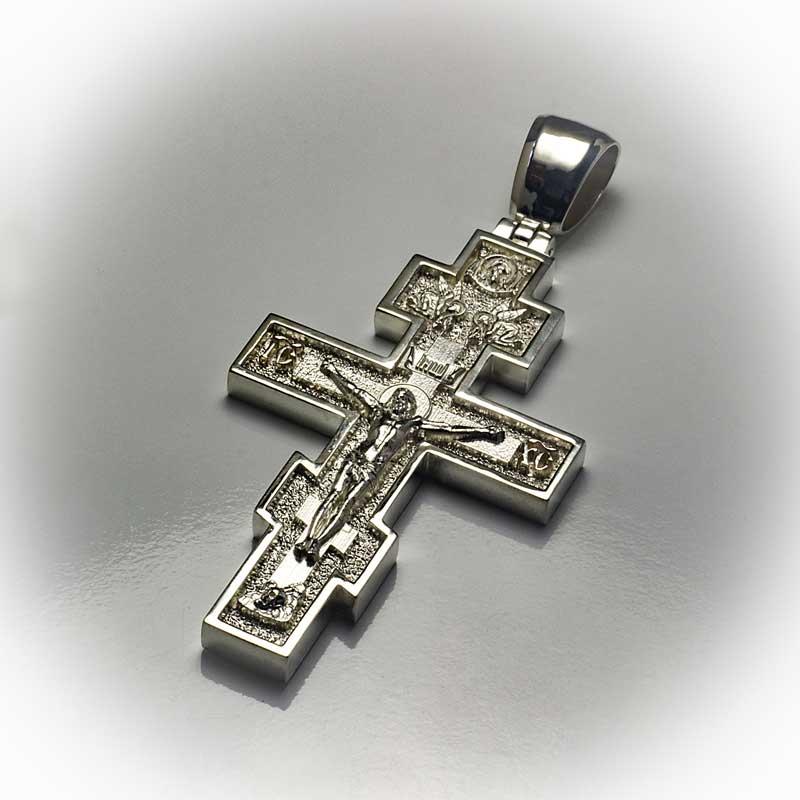 Крест-из-серебра