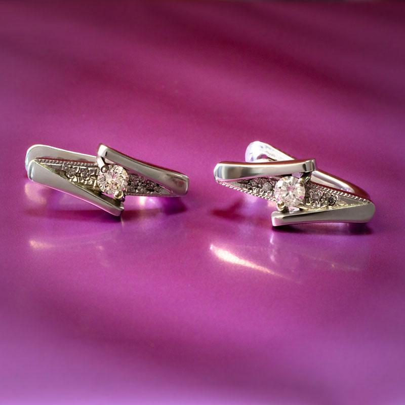 Серьги-с-бриллиантами