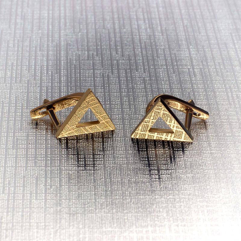 Серьги-треугольники